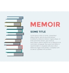 Books stack icon isolated school objects vector