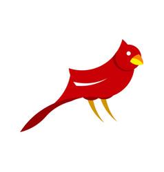 modern bird flat clip art vector image