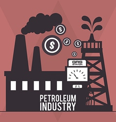 petroleum industry vector image
