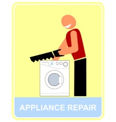 repair and service vector image vector image
