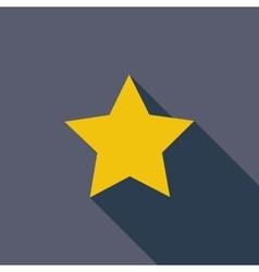 Star Single flat icon vector
