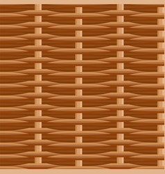 Wicker straw twigs seamless pattern vector