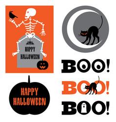 Halloween graphics vector