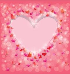 light heart 380 vector image vector image