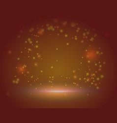 red magic beautiful scene background blank vector image