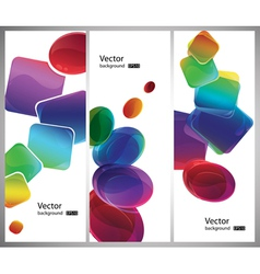 modern style shapes vector image vector image