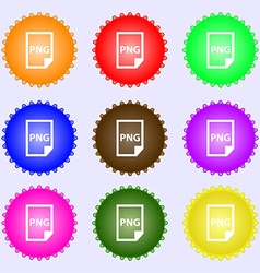 Png icon sign big set of colorful diverse vector