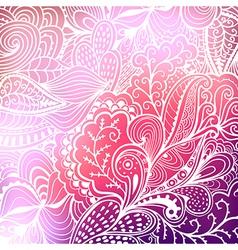 abstract hand-drawn waves vector image