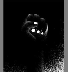 Black lives matter poster background human vector