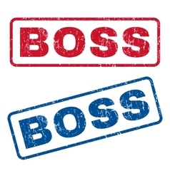Boss Rubber Stamps vector