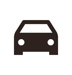 Car icon vector image