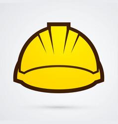 Construction building helmetruction vector