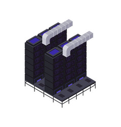 Server heat removal composition vector