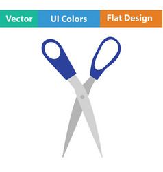 Tailor scissor icon vector