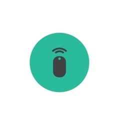 Wireless mouse icon vector image