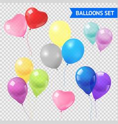 Air Balloons Set vector image vector image