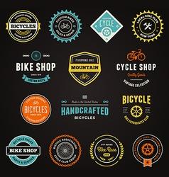 Bike graphics vector image vector image