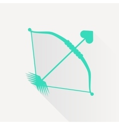 amour arrow icon vector image