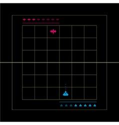 Battle old game vector