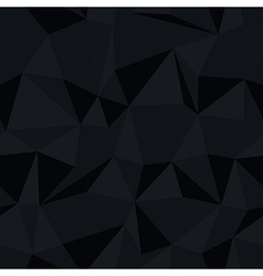 dark triangle pattern vector image