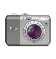 Digital Compact Camera vector image