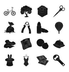food fitness transportation and other web icon vector image