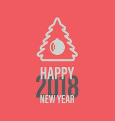 Happy new year banner vector