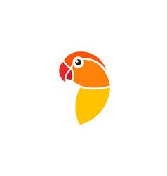 lovebird vector image