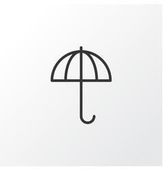 Parasol icon symbol premium quality isolated vector