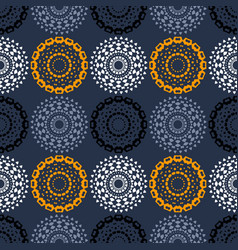 Path of endeavour symmetry seamless pattern vector