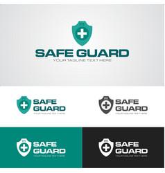 Safe guard security logo vector