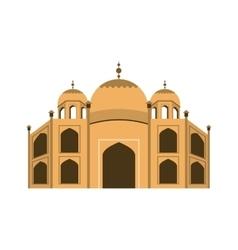 Basilica of Rome landmark icon vector image