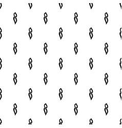 Blacksmith tong pattern seamless vector