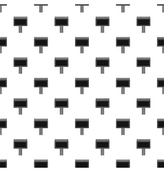 Blank billboard pattern simple style vector