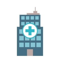 Hospital icon Medical and Health care design vector image