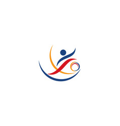 sport logo icon vector image