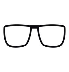 Sunglasses icon simple style vector