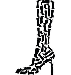 boots collections vector image