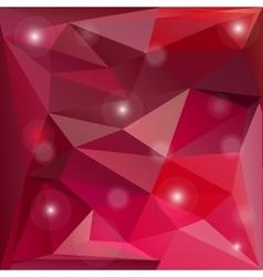 Pink valentine background vector image