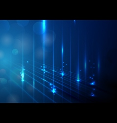 Abstract lights technology concept background vector image