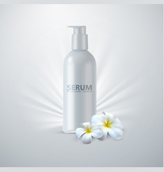 Anti age serum packaging vector