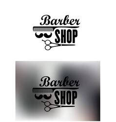 Barber Shop emblems or labels vector
