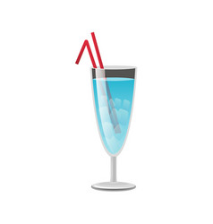cold alcohol beverage colorful vector image