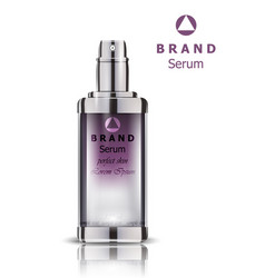 cosmetics set realistic packaging perfume vector image
