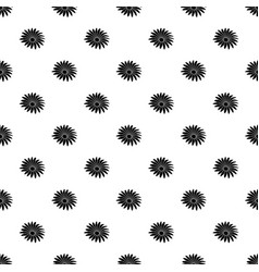 gerber flower pattern seamless vector image