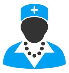 nurse flat icon vector image