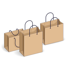 Shopping bags big sale sellout retail black vector