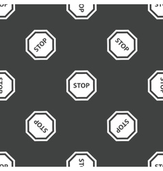 STOP pattern vector image