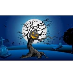 Haunted Tree vector image