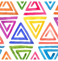 Abstract seamless watercolor pattern vector